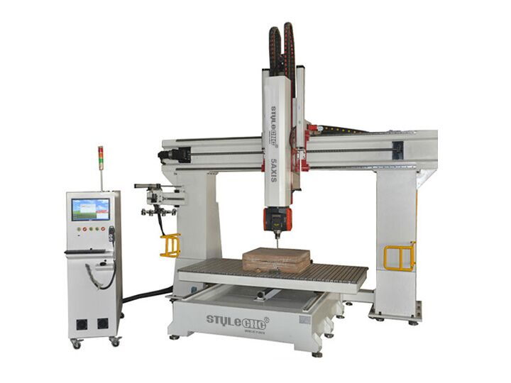 5 Axis Cnc Router Machine Stm1224 5